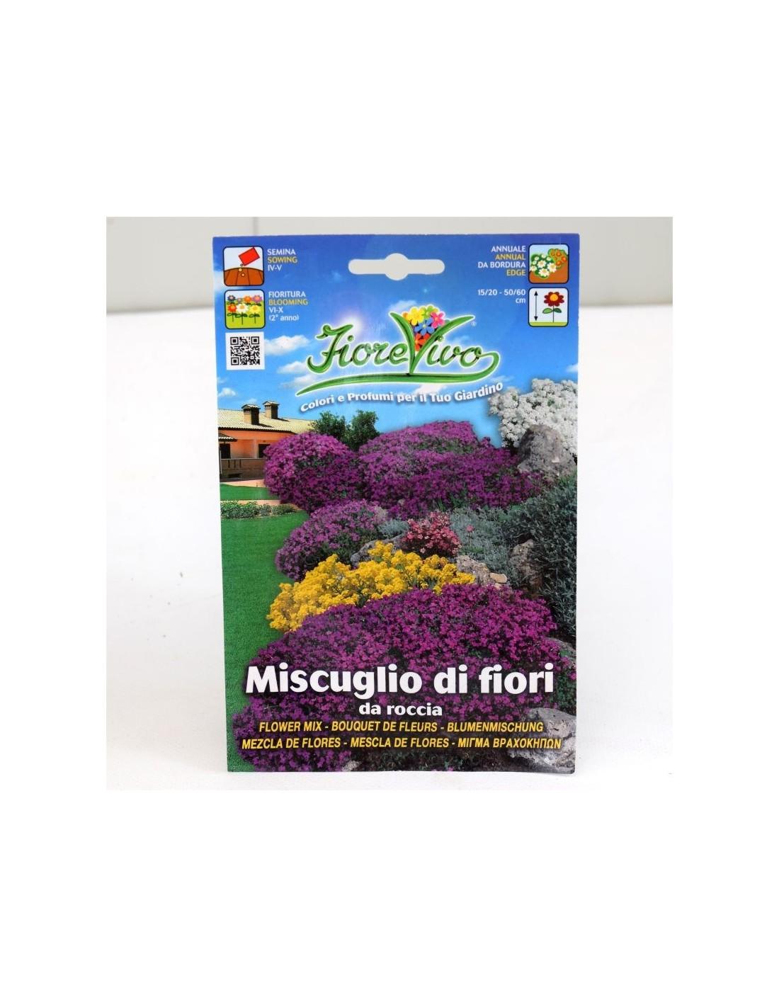 Fiori Da Giardino Roccioso vendita semi per giardini rocciosi -semi fiori mondo piante
